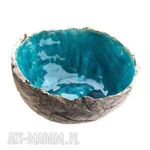 świąteczny prezent, duża misa ceramiczna, ceramika, ceramika artystyczna