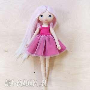 lalki laleczka baletnica z różowymi włosami, baletnica, lalka