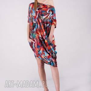 ręczne wykonanie sukienki sukienka summer wzór tuba
