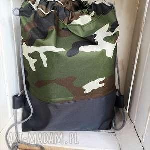 worek plecak moro wodoodporny, worek, plecak, szkoły, przedszkola, spacer, moro