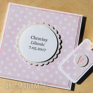 kartka lub podziękowanie chrzest Święty plus bilecik do prezentu - chrzest