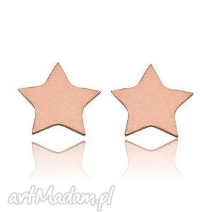 Kolczyki gwiazdki z różowego złota sotho kolczyki, sztyfty