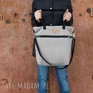 torebka catoo premium #001, pikowana torebka, z ortalionu, pikówka