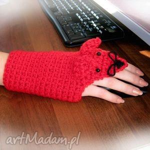 ręcznie robione rękawiczki na myszkę myszka