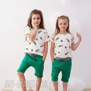 szorty baggy zielone, szorty, baggy, spodenki, dziecko, lato, wakacje, święta