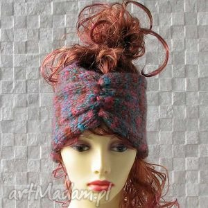 ręcznie wykonane opaski opaska - turban