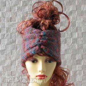 Opaska - turban opaski albadesign opaska, ocieplacz, turban
