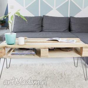 hand-made stoły stolik mangabe, industrialny, vintage mashoko