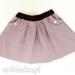 hand-made ubranka spódniczka różowy piasek