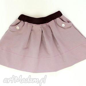 handmade spódniczka różowy piasek
