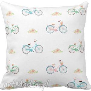 Poszewka na poduszkę dziecięca rowery 3057, poszewka, rowerek, rowerki,