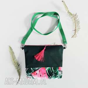 handmade na ramię listonoszka arbuzowa
