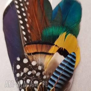 ręcznie robione ozdoby do włosów zamówienie dla pani angeliki - kolorowe