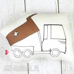 poduszka ozdobna wywrotka - pokoj dziecka, dla dziecka, na prezent, poduszka