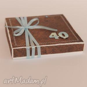 handmade scrapbooking kartki kartka w pudełku urodzinowa
