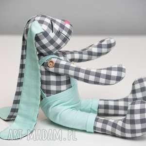 Królik personalizacja prezent z imieniem zabawki artshoplalashop