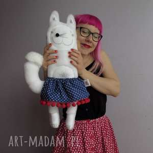 handmade maskotki wilczyca bessie - na zamówienie