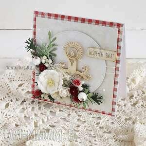 kartka świąteczna w pudełku 529 - boże narodzenie, święta