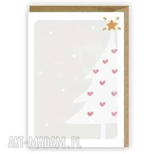 kartka bożonarodzeniowa choinka - cardie, świąteczna, boże narodzenie