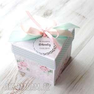 box eksplodujące pudełko osiemnastka prezent urodziny