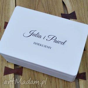 Prezent Ślubne pudełko na koperty Personalizowane Kopertówka, ślub, wesele