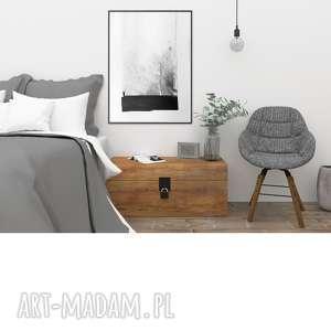 obraz minimalizm abstrakcja, grafika 30x40, plakat, czarno biała