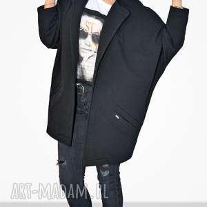 bien fashion czarna bluza damska oversize nietoperz xxl
