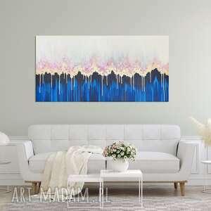 Ręcznie malowany obraz akrylowy - enchanted iii 60x120 cm
