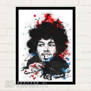 Hendrix painted plakat 30x40 plakaty gau home