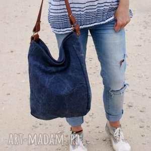 na ramię iks granat płótno, torba, worek, lato, plaża, oryginalne prezenty