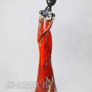 Murzynka figurka ceramiczna, figurka-murzynka, wykonana-ręcznie