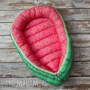 kokon, gniazdko niemowlęce arbuz - kokon, gniazdko, niemowlęce, babynest, arbuz
