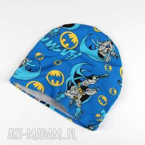 Batman czapka dla dziecka dwuustronna, czapka, batman, ciepła, dwstronna, komiks