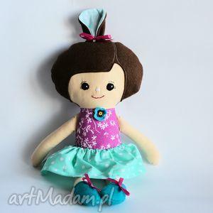 ręcznie robione lalki lala umilka - justynka - 45 cm