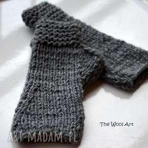 rękawiczki mitenki dodatki, wełniane ciepłe, na prezent