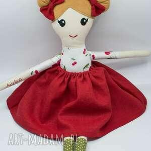 laleczka handmade, lalka ręcznie szyta, szmacianka dla dziewczynki