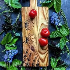 Norda Design - deska, drewniana podstawka, rustykalna dekoracja kuchni (drewniana dekoracja, deska do)