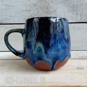 kmdeka duży ręcznie robiony kubek gruszka 420ml, kubek, ceramiczny