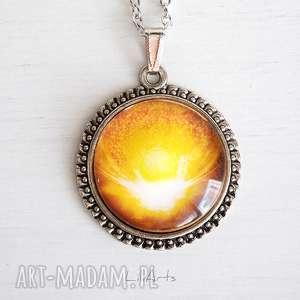 Medalion, talizman - wdzięczność duży naszyjniki liliarts