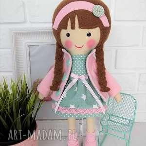 Prezent MALOWANA LALA KLAUDIA, lalka, zabawka, przytulanka, prezent, niespodzianka