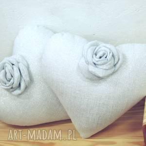 margi studio poduszka serce, poduszka, walentynki, ślub, rocznica