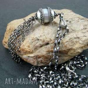 perła otulona srebrem - perła, perły