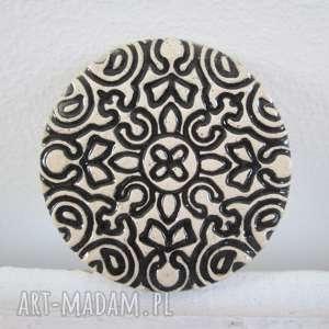 Prezent INDIE broszka ceramiczna, broszka, na-prezent, etniczna, indyjska