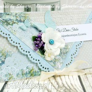 kopertówka ślubna- motyle o poranku - ślub, wesele, kopertówka, ślubna
