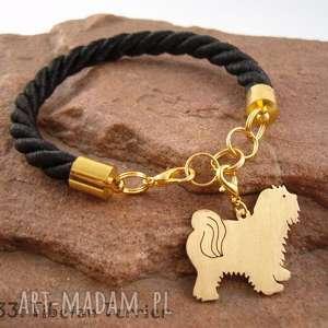 hand-made bransoletki bransoletka terrier tybetański pies nr. 33