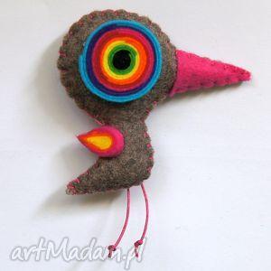 ptaszydełko - filc, lekki, kolorowy, zabawny