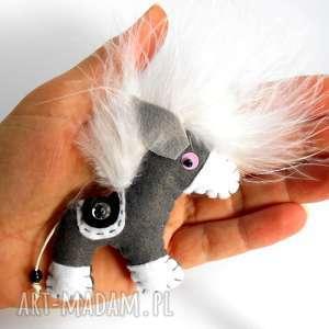 pod choinkę prezent, konik - broszka z filcu, koń, kucyk, pony, filc