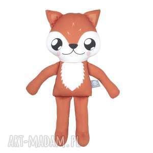 Lisek woodees - leśne stworki maskotki poofy cat lis, lisek