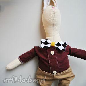pan królik - zabawka, maskotka, przytulanka, szmacianka, prezent, choinkę