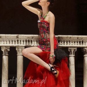 Suknia ślubna folk design aneta larysa knap sukienki folkdesign